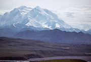 USA, Alaska, Park Visitors, Hiking, Backpacking, Denali National Park