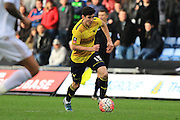 Oxford United midfielder Callum O'Dowda during the The FA Cup third round match between Oxford United and Swansea City at the Kassam Stadium, Oxford, England on 10 January 2016. Photo by Jemma Phillips.