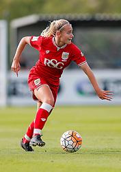 Charlie Estcourt of Bristol City Women in action - Mandatory byline: Rogan Thomson/JMP - 09/07/2016 - FOOTBALL - Stoke Gifford Stadium - Bristol, England - Bristol City Women v Milwall Lionesses - FA Women's Super League 2.
