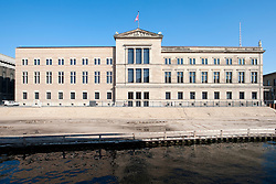 Neues Museum or New Museum on Museumsinsel or Museum Island in Mitte Berlin