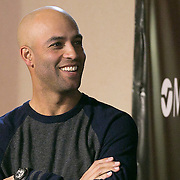 March 6, 2015, Indian Wells, California:<br /> James Blake attends the McEnroe Challenge for Charity VIP Draw Ceremony in Stadium 2 at the Indian Wells Tennis Garden in Indian Wells, California Friday, March 6, 2015.<br /> (Photo by Billie Weiss/BNP Paribas Open)