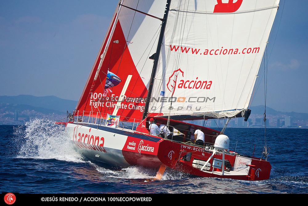 Imoca 60 Acciona 100% Ecopowered