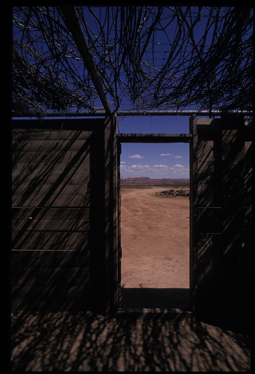 Sheep Camp.  Bodaway, Arizona.  1993