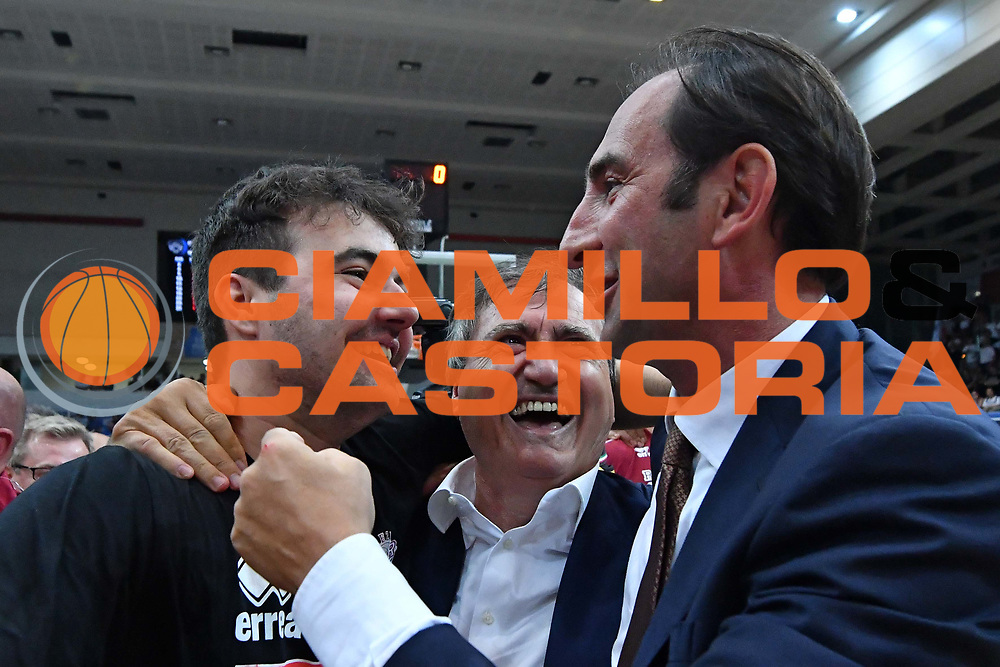Brugnaro<br /> Dolomiti Energia Trento - Umana Reyer Venezia<br /> Lega Basket Serie A 2016-2017<br /> Playoff FINALE Gara 6<br /> Avellino 20/06/2017<br /> Foto Ciamillo-Castoria