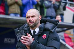 Rotherham United manager Paul Warne - Mandatory by-line: Ryan Crockett/JMP - 18/11/2017 - FOOTBALL - Aesseal New York Stadium - Rotherham, England - Rotherham United v Shrewsbury Town - Sky Bet League One