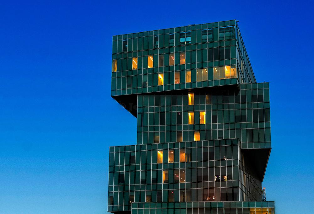 University of North Carolina, Center City Classroom Building, Charlotte, North Carolina, USA.