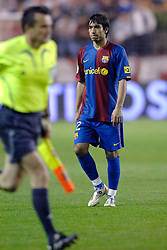 03-03-2007 VOETBAL: SEVILLA FC - BARCELONA: SEVILLA  <br /> Sevilla wint de topper met Barcelona met 2-1 / Giovanni van Bronckhorst<br /> &copy;2006-WWW.FOTOHOOGENDOORN.NL