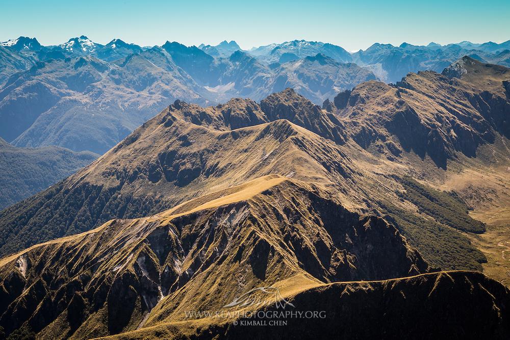Hunter Mountains, Fiordland, New Zealand