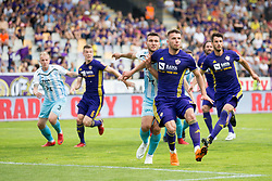 Gregor Bajde of NK Maribor during football match between NK Maribor and ND Gorica in Round #36 of Prva liga Telekom Slovenije 2017/18, on April 27, 2018 in Ljudski vrt, Maribor, Slovenia. Photo by Urban Urbanc / Sportida