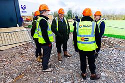 Bristol Bears owner Steve Lansdown, Chairman Chris Booy and CEO Mark Tainton visit the new Bears Training ground - Rogan/JMP - 26/02/2020 - RUGBY UNION - Beggar Bush Lane - Bristol, England.