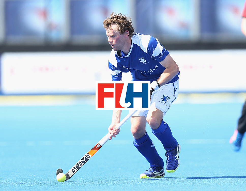 LONDON, ENGLAND - JUNE 15:  Chris Grassick of Scotland  during the Hero Hockey World League Semi Final match between India and Scotland at Lee Valley Hockey and Tennis Centre on June 15, 2017 in London, England.  (Photo by Alex Morton/Getty Images)