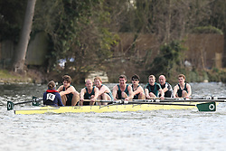 2012.02.25 Reading University Head 2012. The River Thames. Division 1. Maidenhead Rowing Club IM1 8+
