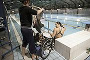 Giulia Ghiretti e Micaela Biava-Natural born swimmers-nuotatori disabili, Milano, 2014 . Giulia Ghiretti