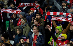 KAZAN, RUSSIA - Thursday, November 5, 2015: Liverpool supporters during the UEFA Europa League Group Stage Group B match against FC Rubin Kazan at the Kazan Arena. (Pic by Oleg Nikishin/Propaganda)