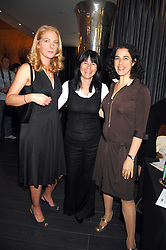 Left to right,LAURA LINDSAY, LADY HELEN TOWNSHEND and NICOLA HART at a lunch in aid of Chickenshed showcasing Ben de Lisi's Spring Summer and Autumn 2007 Collections held at the Baglioni Hotel, 60 Hyde Park gate, London SW7 on 24th April 2007.<br /><br />NON EXCLUSIVE - WORLD RIGHTS