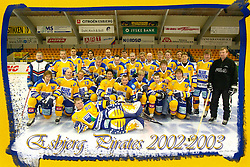 Esbjerg Pirates Holdfoto. 2002-2003.