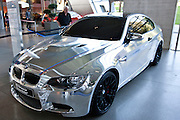 BMW M3 Showcar Chrome Bullet on display at the BMW Museum and Headquarters in Munich, Bavaria, Germany