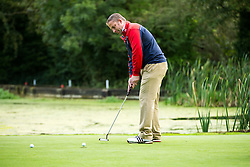 Team St Austell Brewery take part in the annual Bristol Rovers Golf Day - Rogan Thomson/JMP - 10/10/2016 - GOLF - Farrington Park - Bristol, England - Bristol Rovers Golf Day.