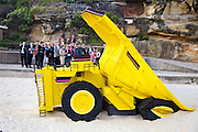 Sculpture By The Sea, Bondi, Sydney..The world's largest annual free-to-the-public outdoor sculpture exhibition, Sculpture by the Sea, Bondi. 23.10.12.dump-Paul Caporn
