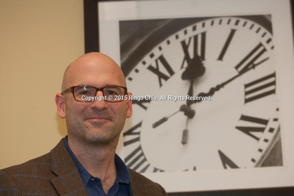 Noah Craft, CEO of Science 37. (Photo by Ringo Chiu)