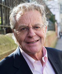 American TV presenter Jerry Springer speaks at the Oxford Union,<br /> . Thursday, 27th February 2014. Picture by i-Images