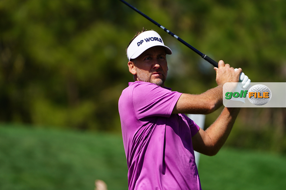Ian Poulter (ENG) during Round 1 of the Players Championship, TPC Sawgrass, Ponte Vedra Beach, Florida, USA. 12/03/2020<br /> Picture: Golffile | Fran Caffrey<br /> <br /> <br /> All photo usage must carry mandatory copyright credit (© Golffile | Fran Caffrey)