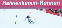 23.01.2011, Hahnenkamm, Kitzbuehel, AUT, FIS World Cup Ski Alpin, Men, Slalom, im Bild // Giuliano Razzoli (ITA) // during the men slalom race at the FIS Alpine skiing World cup in Kitzbuehel, EXPA Pictures © 2011, PhotoCredit: EXPA/ S. Zangrando