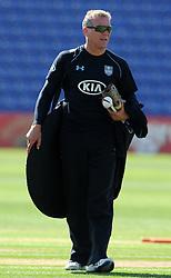 Surrey's Coach Alex Stewart- Photo mandatory by-line: Harry Trump/JMP - Mobile: 07966 386802 - 20/04/15 - SPORT - CRICKET - LVCC County Championship - Division 2 - Day 2 - Glamorgan v Surrey - Swalec Stadium, Cardiff, Wales.