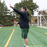 Regina Cougars assistant coach during the Women's Soccer Homeopener on September 16 at U of R Field. Credit: Casey Marshall/Arthur Images