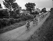 Cycle Race - 126 Mile Championship of Ireland at Dundalk.26/07/1953