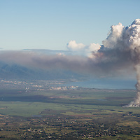 Burning Sugar Cane | Agriculture in Maui, Hawaii | Climate Stories | Conservation Photographer <br /> <br /> Drew Bird Photography <br /> San Francisco Freelance Photographer <br /> Have Camera. Will Travel.