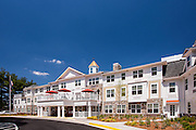Architecutral image of Brightview Fallsgrove Senior Living Center in Gaithersburg MD by Jeffrey Sauers of Commercial Photographics