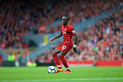 LIVERPOOL, ENGLAND - Saturday, September 22, 2018: Liverpool's Sadio Mane during the FA Premier League match between Liverpool FC and Southampton FC at Anfield. (Pic by Jon Super/Propaganda)