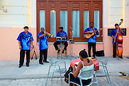 Musicians in the street, Havana Vieja, Cuba.