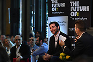 The Wall Street Journal The Future of : The Workplace interview featuring Jeff Weiner, CEO of LinkedIn, with Dennis Berman, Financial Editor at the Wall Street Journal, in New York City on June 22, 2017. (photo by Gabe Palacio)