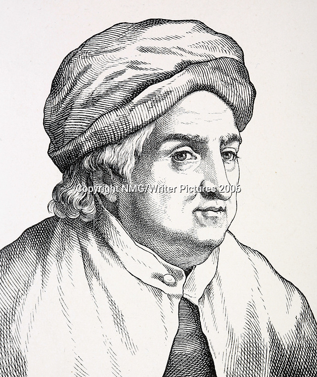 Albrecht von Haller (1708-77) Swiss anatomist, botanist and poet<br />