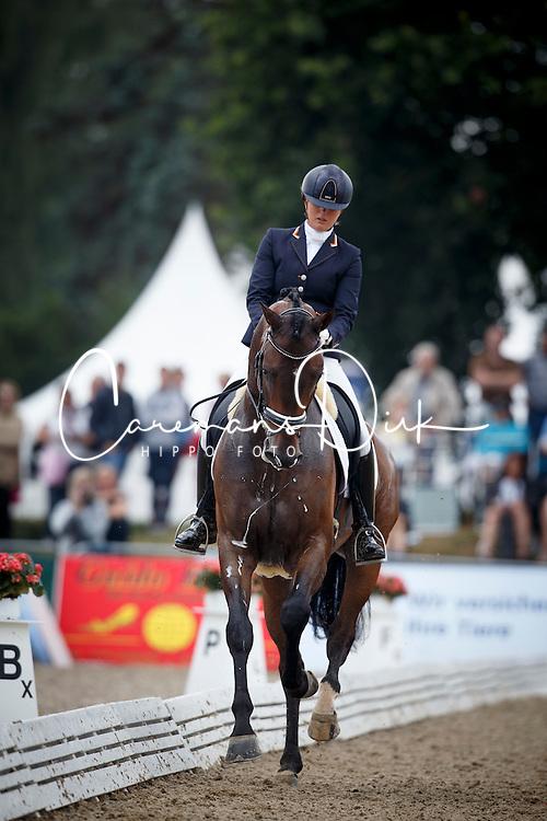 Scholtens Emmelie, (NED), Fenix<br /> Small Final 5 years old horses<br /> World Championship Young Dressage Horses - Verden 2015<br /> &copy; Hippo Foto - Dirk Caremans<br /> 07/08/15