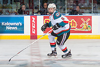 KELOWNA, CANADA - DECEMBER 27: Kaeden Korczak #6 of the Kelowna Rockets skates against the Kamloops Blazers on December 27, 2016 at Prospera Place in Kelowna, British Columbia, Canada.  (Photo by Marissa Baecker/Shoot the Breeze)  *** Local Caption ***