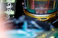 MOTORSPORT - F1 2013 - GRAND PRIX OF MONACO / GRAND PRIX DE MONACO - MONTE CARLO (MON) - 23 TO 26/05/2013 - PHOTO FRANCOIS FLAMAND / DPPI - HAMILTON LEWIS (GBR) - MERCEDES GP MGP W04 - AMBIANCE PORTRAIT HELMET
