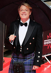 Edinburgh International Film Festival, Sunday 26th June 2016<br /> <br /> Stars turn up on the closing night gala red carpet for the World Premiere of &quot;Whisky Galore!&quot;  at the Edinburgh International Film Festival 2016<br /> <br /> Eddie Izzard who plays Captain Wagget in the film.<br /> <br /> (c) Alex Todd | Edinburgh Elite media
