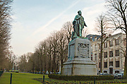 Statue of Jan August Hendrik Leys (18 February 1815 – 26 August 1869) Antwerp, Belgium
