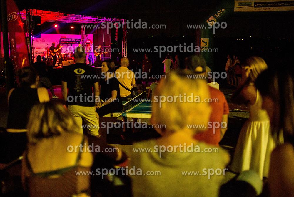 Music group Hornets performs during ATP Challenger Zavarovalnica Sava Slovenia Open 2017, on August 9, 2017 in Sports centre, Portoroz/Portorose, Slovenia. Photo by Vid Ponikvar / Sportida