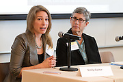 Emily Castor, Director of Transportation Policy, Lyft, and Evelyn Blumenberg, Professor and Chair, Department of Urban Planning, UCLA Luskin School of Public Affairs