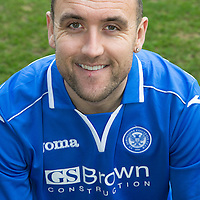 St Johnstone FC Season 2013-14<br /> Lee Croft<br /> Picture by Graeme Hart.<br /> Copyright Perthshire Picture Agency<br /> Tel: 01738 623350  Mobile: 07990 594431