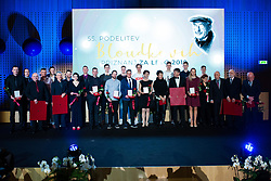 Award winners at 55th Annual Awards of Stanko Bloudek for sports achievements in Slovenia in year 2018 on February 4, 2020 in Brdo Congress Center, Kranj , Slovenia. Photo by Grega Valancic / Sportida
