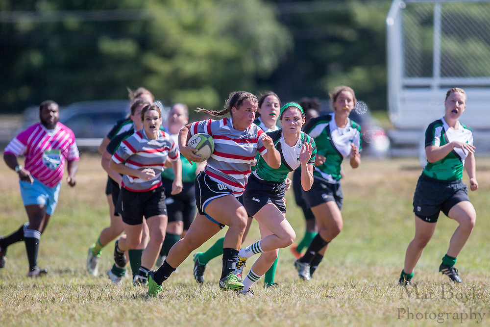 South Jersey Women's Rugby vs Lancaster Thorns at Garden State Rotary Complex in Cherry Hill, NJ on Saturday September 17, 2016. (photo / Mat Boyle)
