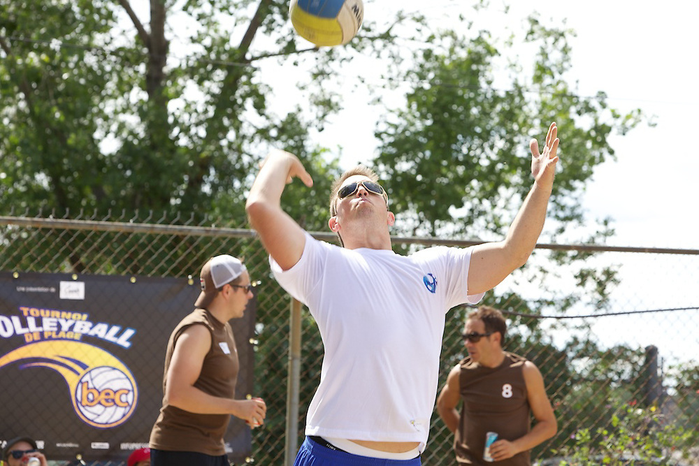 Montreal Communications and Marketing companies and personnel gather to help raise funds for the BEC on August 27th, 2010 by taking part in a special Volleyball Tournament.
