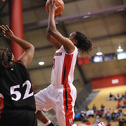 Feb 24, 2009; Piscataway, NJ, USA; Rutgers guard Epiphanny Prince (10) takes a shot during the second half of Rutgers' 71-52 victory over Cincinnati at the Louis Brown Athletic Center.