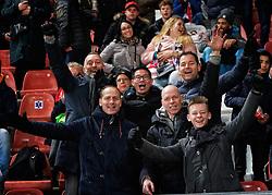 23-11-2019 NED: FC Utrecht - AZ Alkmaar, Utrecht<br /> Round 14 / support vv Maarssen O15-1, Dennis, Jorgen