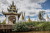 Inle Lake has plenty to see with cute stilt villages, cottage industries and lots of fishermen plying its waterways.